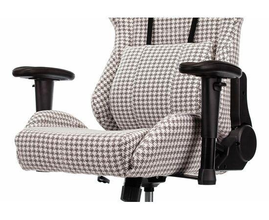 Игровое кресло Бюрократ VIKING LOFT гусиные лапки Morris-1, Вариант цвета: goose фото, изображение 9