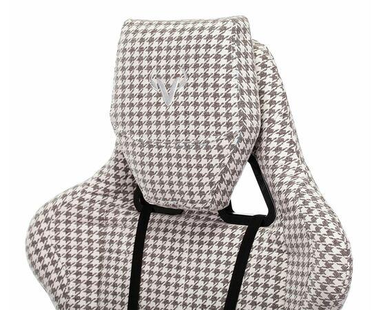 Игровое кресло Бюрократ VIKING LOFT гусиные лапки Morris-1, Вариант цвета: goose фото, изображение 10