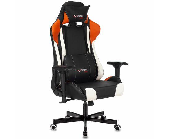 Игровое кресло Бюрократ VIKING TANK Orange, Вариант цвета: orange фото, изображение 2