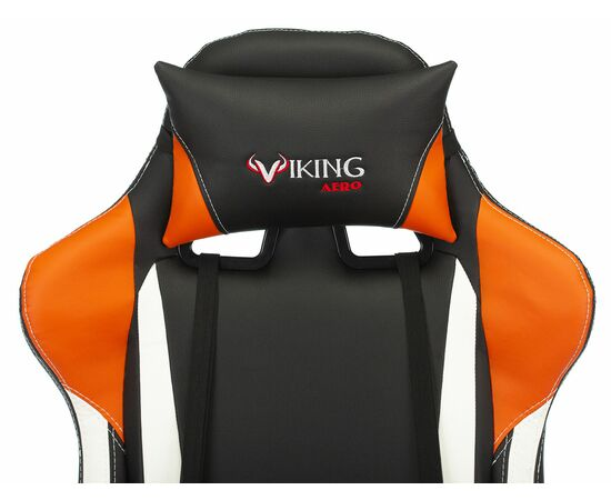Игровое кресло Бюрократ VIKING TANK Orange, Вариант цвета: orange фото, изображение 7