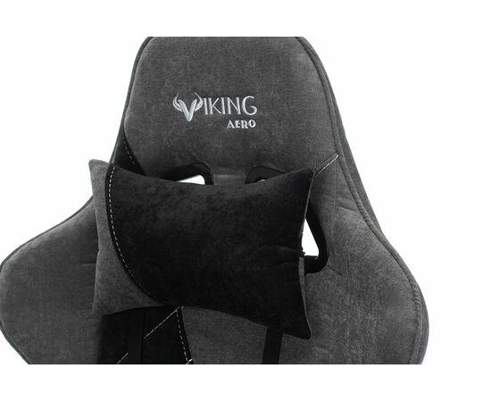 Игровое кресло Бюрократ VIKING X Fabric Grey-Black, Вариант цвета: grey/black фото, изображение 10