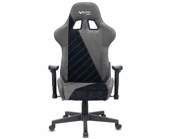 Игровое кресло Бюрократ VIKING X Fabric Grey-Black, Вариант цвета: grey/black фото, изображение 12