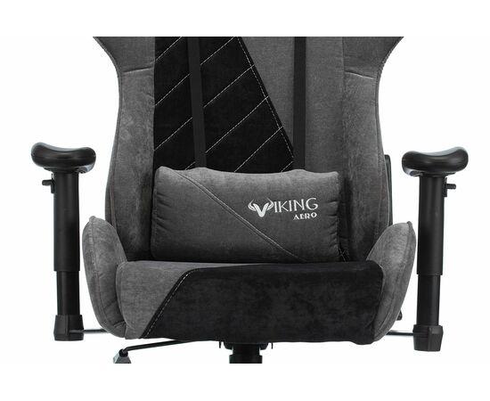 Игровое кресло Бюрократ VIKING X Fabric Grey-Black, Вариант цвета: grey/black фото, изображение 6