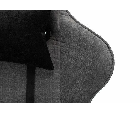 Игровое кресло Бюрократ VIKING X Fabric Grey-Black, Вариант цвета: grey/black фото, изображение 8