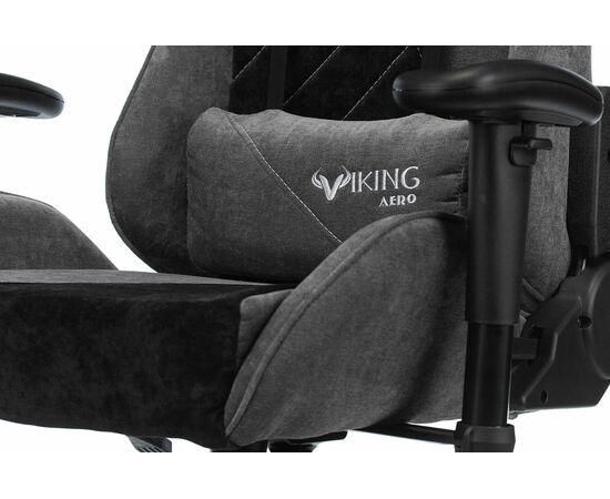 Игровое кресло Бюрократ VIKING X Fabric Grey-Black, Вариант цвета: grey/black фото, изображение 9