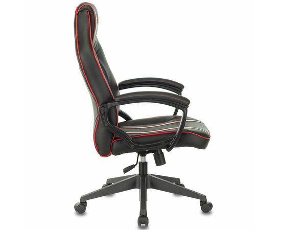 Игровое кресло Бюрократ VIKING ZOMBIE A3 Black/Red, Вариант цвета: black/red фото, изображение 3