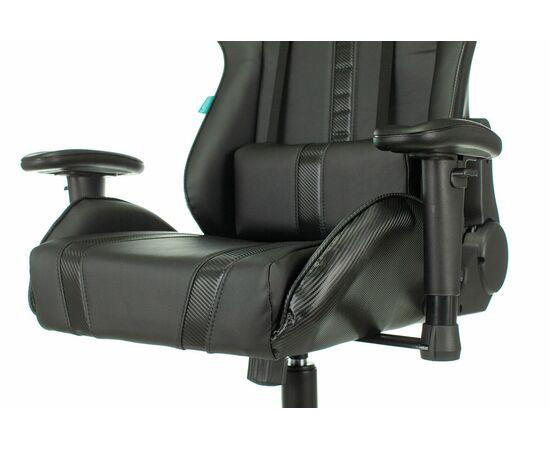 Игровое кресло Бюрократ VIKING ZOMBIE A4 Black, Вариант цвета: black фото, изображение 7