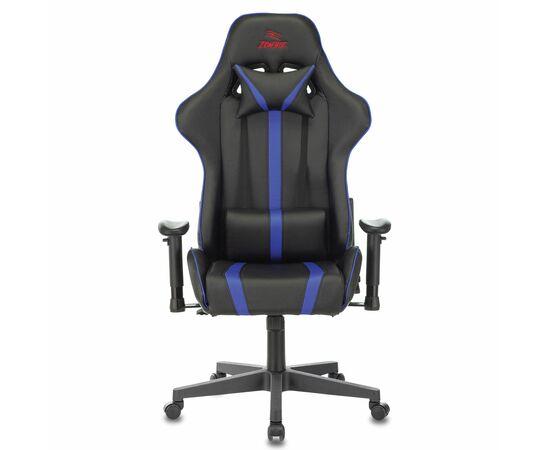 Игровое кресло Бюрократ VIKING ZOMBIE A4 Black-Blue, Вариант цвета: black/blue фото