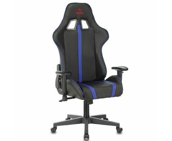 Игровое кресло Бюрократ VIKING ZOMBIE A4 Black-Blue, Вариант цвета: black/blue фото, изображение 11