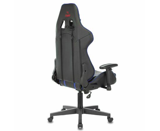 Игровое кресло Бюрократ VIKING ZOMBIE A4 Black-Blue, Вариант цвета: black/blue фото, изображение 4