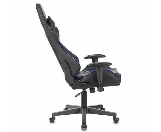 Игровое кресло Бюрократ VIKING ZOMBIE A4 Black-Blue, Вариант цвета: black/blue фото, изображение 5