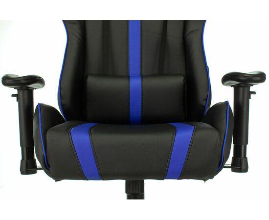 Игровое кресло Бюрократ VIKING ZOMBIE A4 Black-Blue, Вариант цвета: black/blue фото, изображение 6