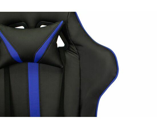 Игровое кресло Бюрократ VIKING ZOMBIE A4 Black-Blue, Вариант цвета: black/blue фото, изображение 7