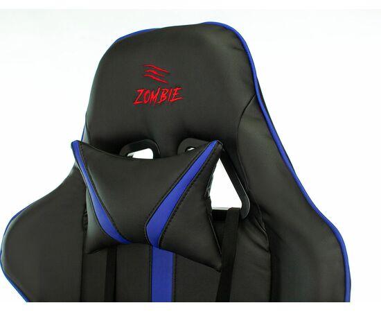 Игровое кресло Бюрократ VIKING ZOMBIE A4 Black-Blue, Вариант цвета: black/blue фото, изображение 9