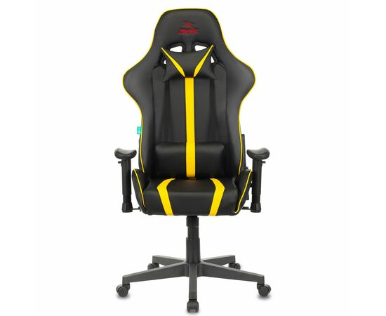 Игровое кресло Бюрократ VIKING ZOMBIE A4 Black-Yellow, Вариант цвета: black/yellow фото