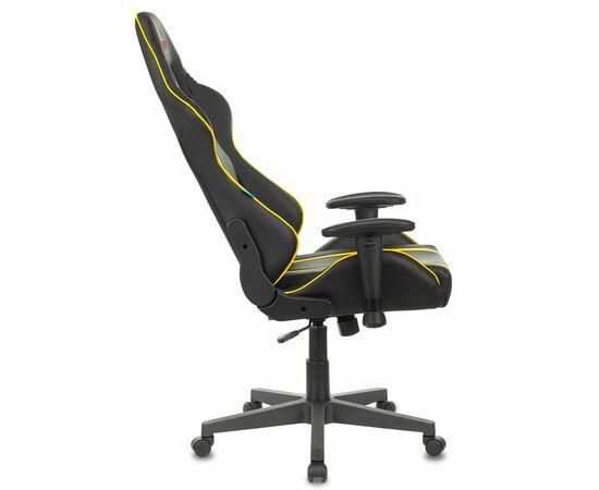 Игровое кресло Бюрократ VIKING ZOMBIE A4 Black-Yellow, Вариант цвета: black/yellow фото, изображение 10
