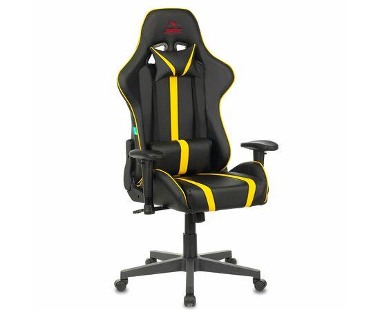 Игровое кресло Бюрократ VIKING ZOMBIE A4 Black-Yellow, Вариант цвета: black/yellow фото, изображение 2
