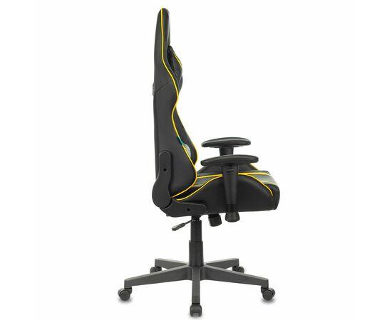Игровое кресло Бюрократ VIKING ZOMBIE A4 Black-Yellow, Вариант цвета: black/yellow фото, изображение 3