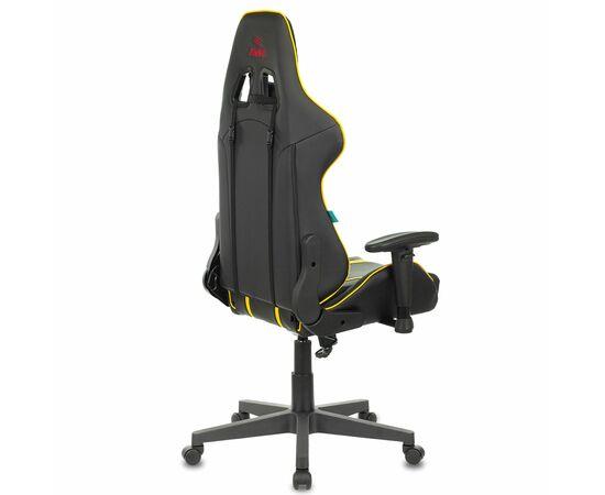 Игровое кресло Бюрократ VIKING ZOMBIE A4 Black-Yellow, Вариант цвета: black/yellow фото, изображение 4