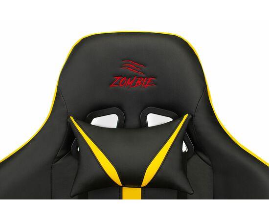 Игровое кресло Бюрократ VIKING ZOMBIE A4 Black-Yellow, Вариант цвета: black/yellow фото, изображение 6