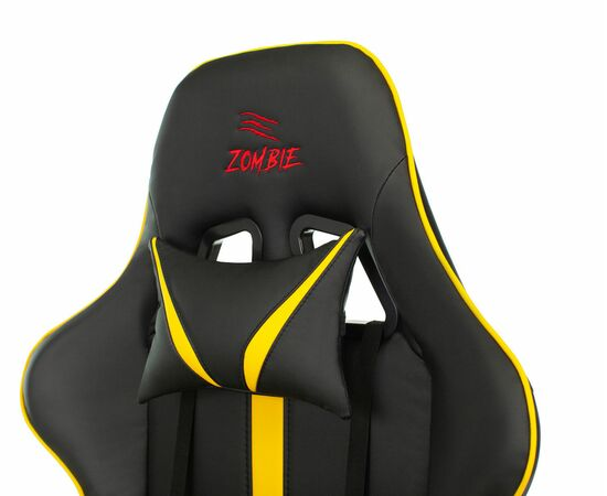 Игровое кресло Бюрократ VIKING ZOMBIE A4 Black-Yellow, Вариант цвета: black/yellow фото, изображение 7