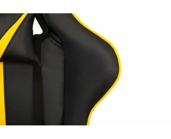 Игровое кресло Бюрократ VIKING ZOMBIE A4 Black-Yellow, Вариант цвета: black/yellow фото, изображение 8