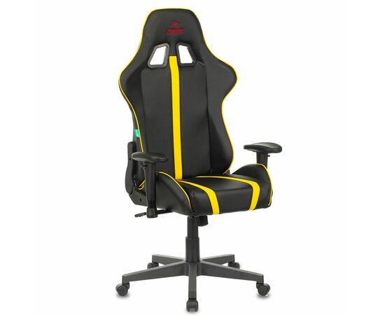 Игровое кресло Бюрократ VIKING ZOMBIE A4 Black-Yellow, Вариант цвета: black/yellow фото, изображение 9