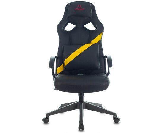 Игровое кресло Бюрократ ZOMBIE DRIVER Black-Yellow фото