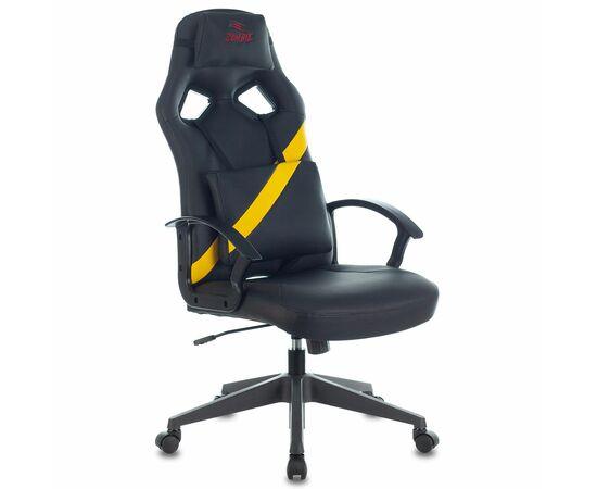 Игровое кресло Бюрократ ZOMBIE DRIVER Black-Yellow фото, изображение 2