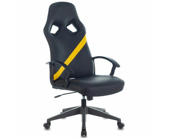Игровое кресло Бюрократ ZOMBIE DRIVER Black-Yellow фото, изображение 6