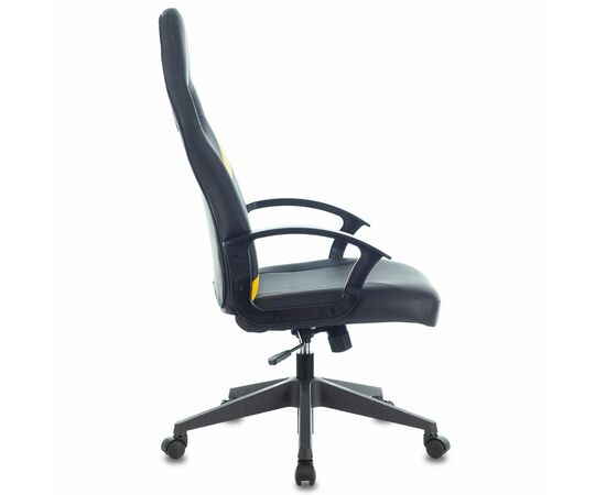 Игровое кресло Бюрократ ZOMBIE DRIVER Black-Yellow фото, изображение 7