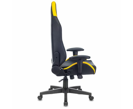 Игровое кресло Бюрократ Zombie HERO CYBERZONE PRO, Вариант цвета: black/yellow фото, изображение 14
