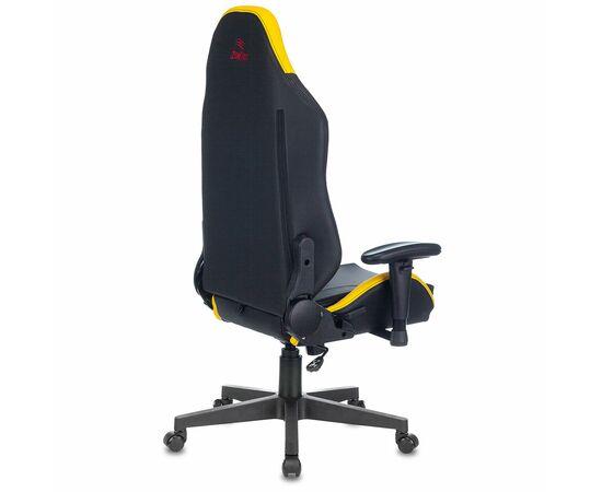 Игровое кресло Бюрократ Zombie HERO CYBERZONE PRO, Вариант цвета: black/yellow фото, изображение 15