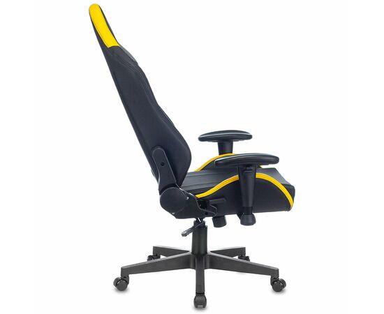 Игровое кресло Бюрократ Zombie HERO CYBERZONE PRO, Вариант цвета: black/yellow фото, изображение 16