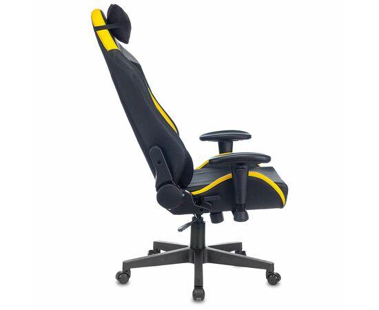 Игровое кресло Бюрократ Zombie HERO CYBERZONE PRO, Вариант цвета: black/yellow фото, изображение 5