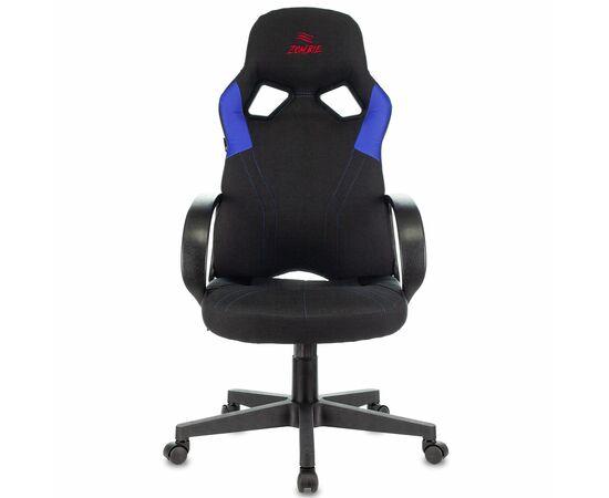 Игровое кресло Бюрократ ZOMBIE RUNNER Black/Blue, Вариант цвета: black/blue фото