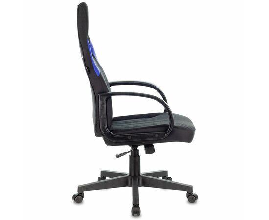 Игровое кресло Бюрократ ZOMBIE RUNNER Black/Blue, Вариант цвета: black/blue фото, изображение 3