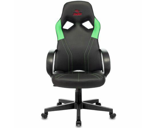 Игровое кресло Бюрократ ZOMBIE RUNNER Black/Green, Вариант цвета: black/green фото