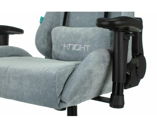 Игровое кресло Бюрократ Zombie VIKING KNIGHT Fabric gray-blue Light-28, Вариант цвета: grey/blue фото, изображение 10