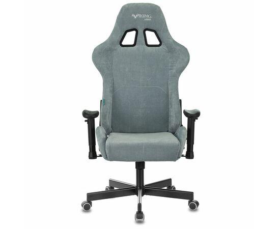 Игровое кресло Бюрократ Zombie VIKING KNIGHT Fabric gray-blue Light-28, Вариант цвета: grey/blue фото, изображение 15