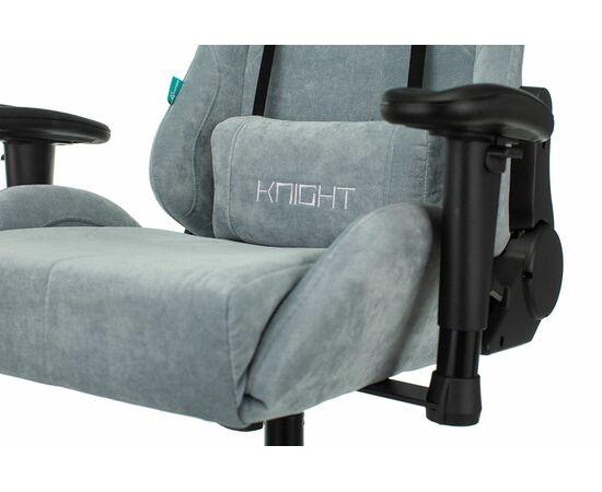Игровое кресло Бюрократ Zombie VIKING KNIGHT Fabric gray-blue Light-28, Вариант цвета: grey/blue фото, изображение 9