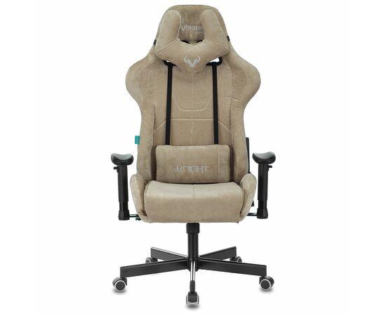 Игровое кресло Бюрократ Zombie VIKING KNIGHT Fabric Sand Light-21, Вариант цвета: sand фото