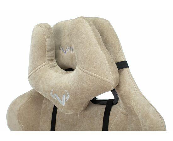 Игровое кресло Бюрократ Zombie VIKING KNIGHT Fabric Sand Light-21, Вариант цвета: sand фото, изображение 10