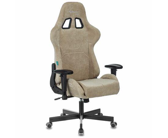 Игровое кресло Бюрократ Zombie VIKING KNIGHT Fabric Sand Light-21, Вариант цвета: sand фото, изображение 13