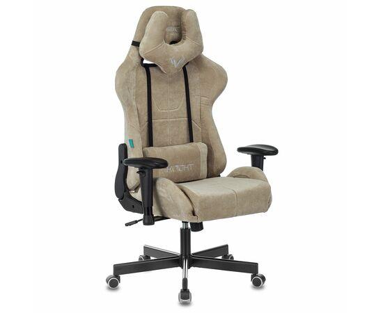 Игровое кресло Бюрократ Zombie VIKING KNIGHT Fabric Sand Light-21, Вариант цвета: sand фото, изображение 2