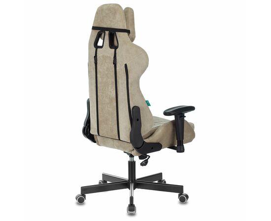 Игровое кресло Бюрократ Zombie VIKING KNIGHT Fabric Sand Light-21, Вариант цвета: sand фото, изображение 4