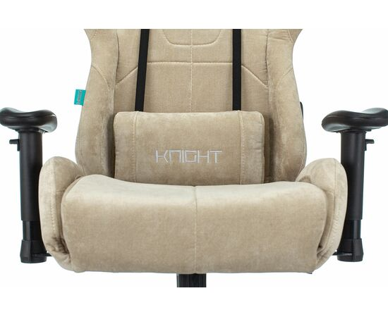 Игровое кресло Бюрократ Zombie VIKING KNIGHT Fabric Sand Light-21, Вариант цвета: sand фото, изображение 18