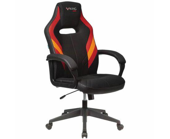 Игровое кресло Бюрократ VIKING 3 AERO Red, Вариант цвета: black/red фото, изображение 2