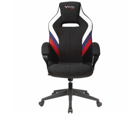 Игровое кресло Бюрократ VIKING 3 AERO White-Blue-Red, Вариант цвета: white/blue/red фото