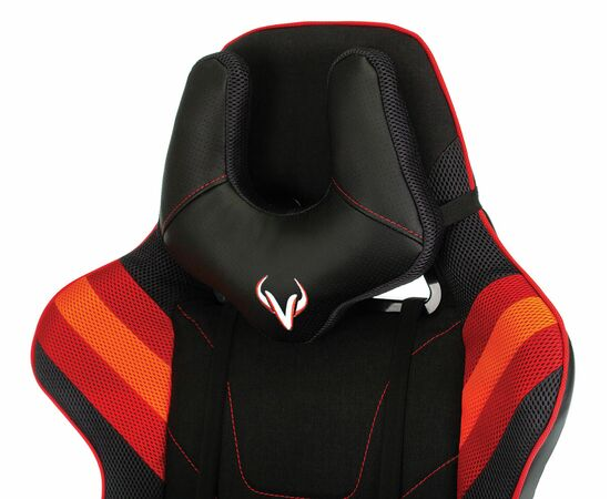 Игровое кресло Бюрократ VIKING 4 AERO Red, Вариант цвета: black/red фото, изображение 10
